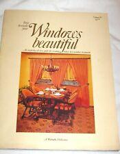 Vintage Book Catalogue Kirsch Windows Beautiful 1972 Art Deco