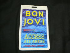 Bon Jovi 1987 All Access Polygram Music Video Tour Jacket Crew Employee Owned