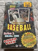 1995 Topps Baseball Box Series 1, 36 Packs, POWER PACK BOX, Griffey Ripken Bonds