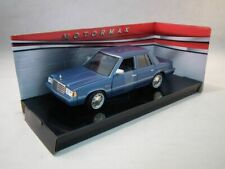 Plymouth Reliant, 1983, Blue, Motormax.1/24 Scale, Diecast metal Model Car
