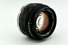 Olympus Zuiko 50mm f/1.4 Manual Focus OM-Mount Prime Lens