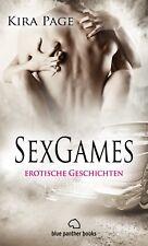 SexGames   9 Erotische Geschichten von Kira Page - blue panther books