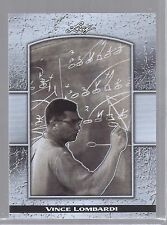 VINCE LOMBARDI 2011 LEAF NATIONAL CONVENTION LIMITED EDITION CARD! 4 of 9!