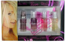 Paris Hilton para Mujer 4 Piezas Set: Miniatura Edp 14,8 Ml Perfume Spr