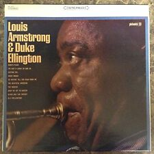 Louis Armstrong & Duke Ellington Pickwick LP Records Vinyl Album SPC-3033