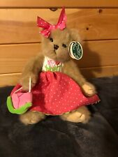 "Bearington Bears ""Tippy Tulip"" 14"" Collectible Bear- New- 2010"