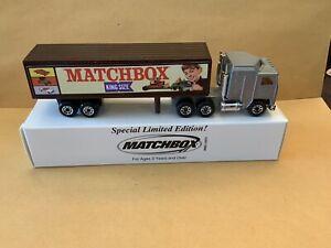 "Matchbox Convoy CY-8 Kenworth Box Truck ""Matchbox King Size"" See Description"