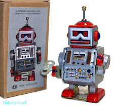 Tin Toy Windup Robot Little Giant Space Toy