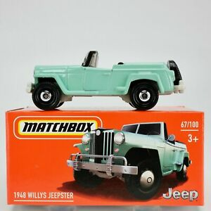 Matchbox 1948 WILLYS JEEPSTER  Mint in Box