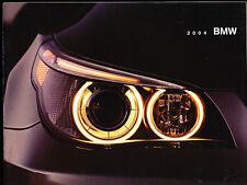 2004 BMW 28-page Car Dealer Sales Brochure - 645Ci 325i Z4 M3 X3 X5 745i 545i