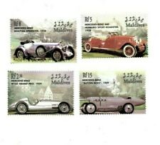 MODERN GEMS - Maldives - Mercedes Benz - Set Of 4 Stamps - MNH