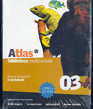 ATLAS BIBLIOTECA MULTIMEDIALE N°3 - SCIENZE NATURALI II - I VERTEBRATI (con CD)