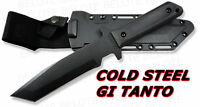 Cold Steel G.I. Tanto With Secure-Ex Kydex Sheath 80PGTKZ **NEW**