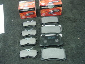 FORD FOCUS RS 02- FRONT & REAR MINTEX BRAKE PADS BREMBO