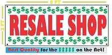 RESALE SHOP Full Color Banner Sign 4 Thrift Shop Store