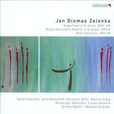 Jan Dismas Zelenka: Magnificat; Missa Nativitatis Domini; Dixit Dominus (CD,...