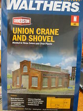 Walthers Cornerstone N #3826 Union Crane and Shovel -- Kit - 5-5/8 x 4-1/4 x 3""
