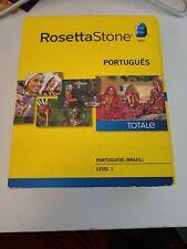 Rosetta Stone: Portugese (Brazil) Level 1 Retail CD's Version 4