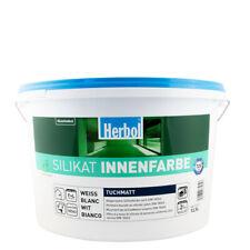 (5,76€/ L)Herbol Silikat Innenfarbe 12,5L weiss, mineralische Wandfarbe