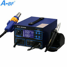 3 IN 1 Soldering Iron Station A-BF SS320D Power Supply Hot Air Gun Welding Tool