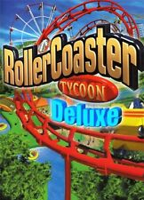 RollerCoaster Tycoon: Deluxe - Region Free Steam PC Key (NO CD/DVD)