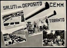 AA1254 Taranto - Città - Saluti dal deposito C.E.M.M. - Vedute