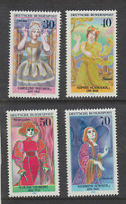 WEST GERMANY MNH STAMP DEUTSCHE BUNDESPOST 1976 GERMAN ACTRESSES  SG 1800-1803