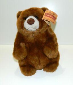 """DAKIN Artist Collection Lou Rankin Friends 12"""" Jasper Plush Stuffed Bear W/ Tag"""