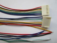 350 pcs 2510 Pitch 2.54mm 7 Pin Female Connector with 26AWG 30cm Leads Cable