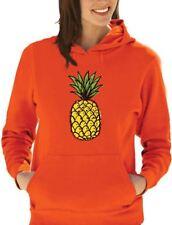 Summer Pineapple Printed Women Hoodie Cute