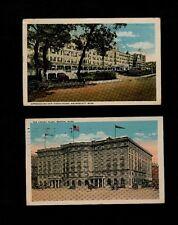 TWO MA Hotel Cards - Copley Plaza in Boston & New Ocean House, Swampscott, Mass.