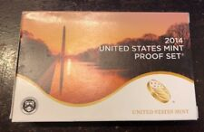2014 United States Mint Proof Set w/ Box & COA