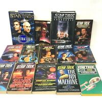 34 Book Lot  STAR TEK Novels Fiction Science Fiction Sci Fi SciFi SF