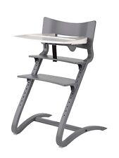 Leander Hochstuhl Aktion in grau incl.Sicherheitsbügel Tablett und Sitzkissen