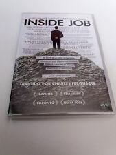 "DVD ""INSIDE JOB"" COMO NUEVO CHARLES FERGUSON"
