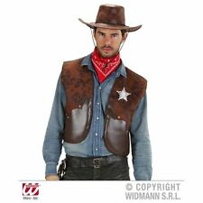 Leather Cowboy & Western Unisex Fancy Dress