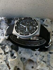 🔝Reloj Watch 🇯🇵Seiko Cronografo ✨7A28-7049 Cronografo vintage Diver EXCELENTE