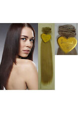 """18"""" 7-Piece SuperRemi Clip-In Straight Hair Extensions - Silky Straight"""