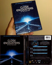 2-Disc Blu ray Spielberg CLOSE ENCOUNTERS CE3K 30th ULTIMATE 3 Cut OOP A/B/C NEW