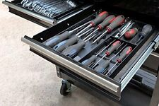"Screwdriver Organizer Box Store Tool Sorter Tray Compact Chest Drawers 13"" x 10"""