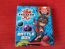 Bakugan Battle Brawlers Battle Box Fold Out Hard Cover NICE!!