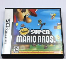 Super Mario Bros. Nintendo DS Game NDS Lite DSi 2DS 3DS XL a F01