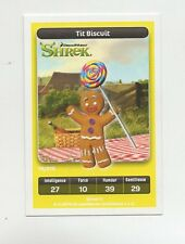 Carte Carrefour Dreamworks n° 14/216 - TIT BISCUIT - Shrek  (5345)