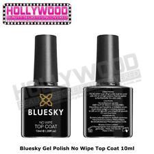 Bluesky NO WIPE Top Coat Soak Off UV Gel Polish-Needs UV/LED curing nail lamp