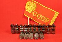 15 PCS 6N3P E,EV / 5670 / 2C51 / 396A / ECC42 Hi-Fi Vacuum Double triode tubes.