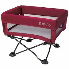 Kidco DreamPod Portable Crib / Bassinet - Cranberry - New! Dream Pod