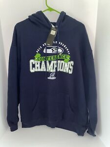 NFL Seattle Seahawks Adult Sweatshirt, 2013 Conference Champions NEW Size XL