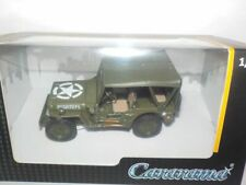 Jeep Willys 4x4 - Soft Top, MODEL CAR. 1:43, MILITARY, ARMY,CARARAMA, VEHICLE