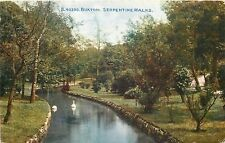 s05753 Serpentine Walks, Buxton, Derbyshire, England postcard *COMBINED SHIPPING