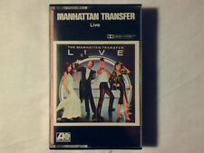 MANHATTAN TRANSFER Live mc cassette k7 GERMANY MAI SUONATA VERY RARE UNPLAYED!!!